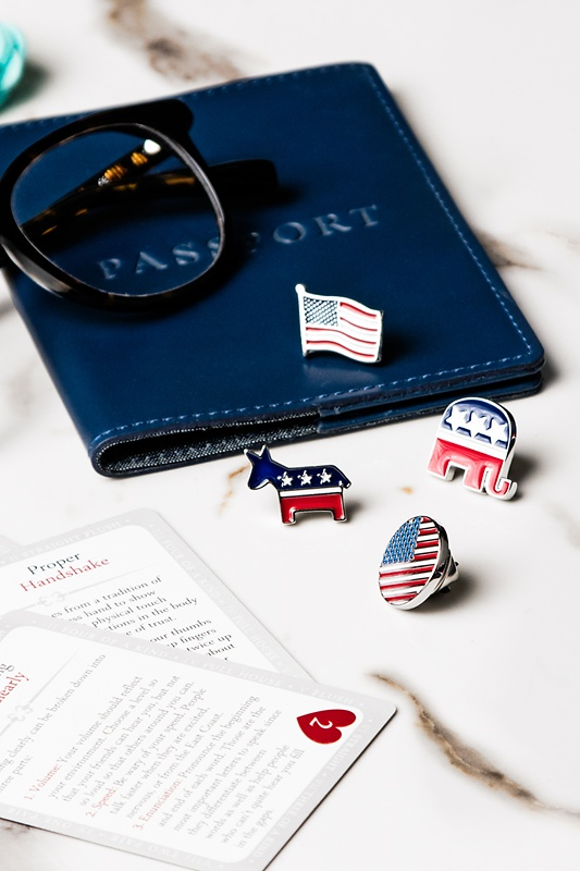 Republican Elephant Lapel Pin