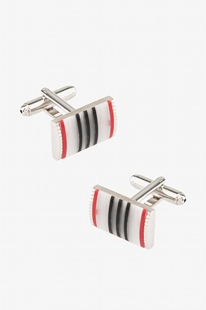 Vertical Stripe Multi Cufflinks