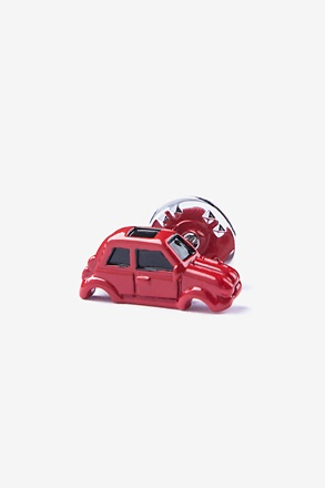 Who Stole My Wheels? Red Lapel Pin