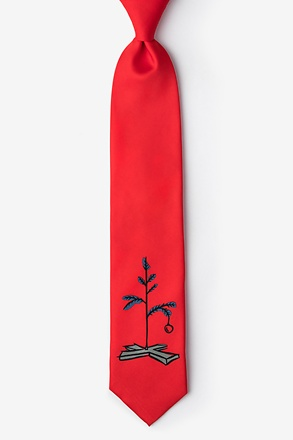 A Most Pathetic Tree Red Tie