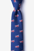 Biplanes Skinny Tie Photo (0)