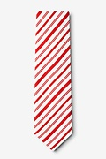 Candy Cane Red Tie Photo (1)