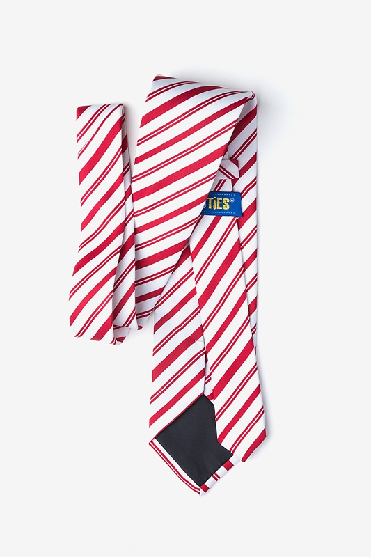 Candy Cane Red Tie