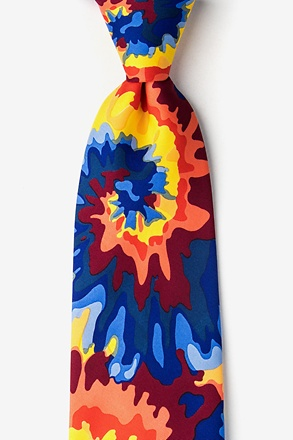 Far Out Tie-Dye Tie