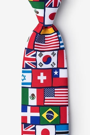 _International Flags Tie_