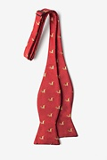 Jumping Reindeer Self-Tie Bow Tie Photo (1)
