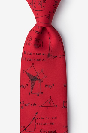_Mathematics Red Tie_