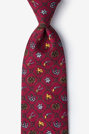 Old West Tie