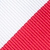 Red Microfiber Red & White Stripe