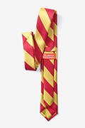 Red & Gold Stripe Tie For Boys Photo (1)