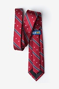 USA Stripe Red Tie