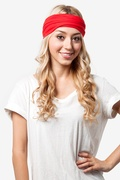 Basic Stretchy Red Headband by Sparkle & Fuzz