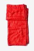 Marilyn Sparkle Red Scarf by Scarves.com