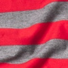 Red Polyester Mens Caravan Stripe Scarf