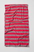 Mens Caravan Stripe Red Scarf Photo (1)