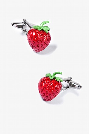 Strawberries Cufflinks