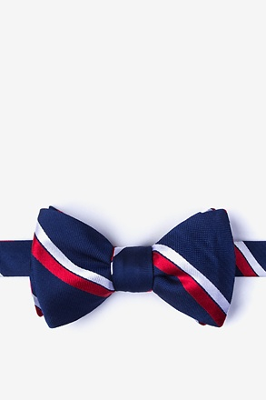 Axel Red Self-Tie Bow Tie
