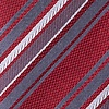 Red Silk Banks Skinny Tie