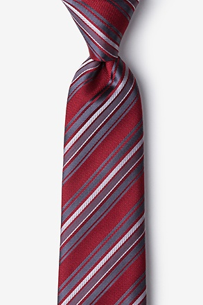 Banks Red Tie