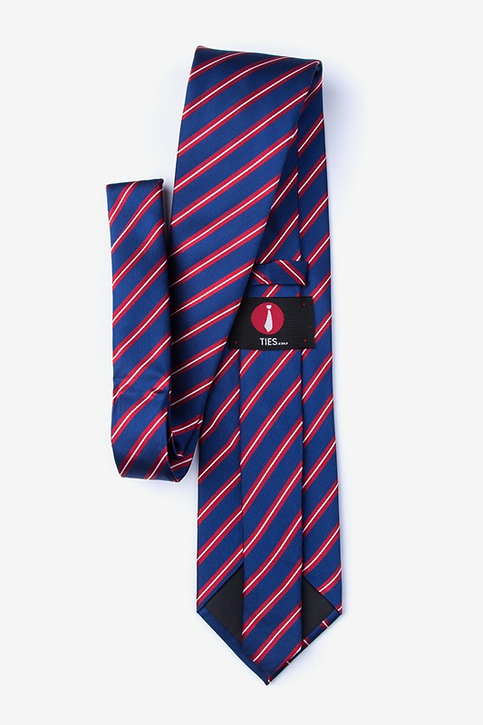 Barrow Red Extra Long Tie Photo (1)