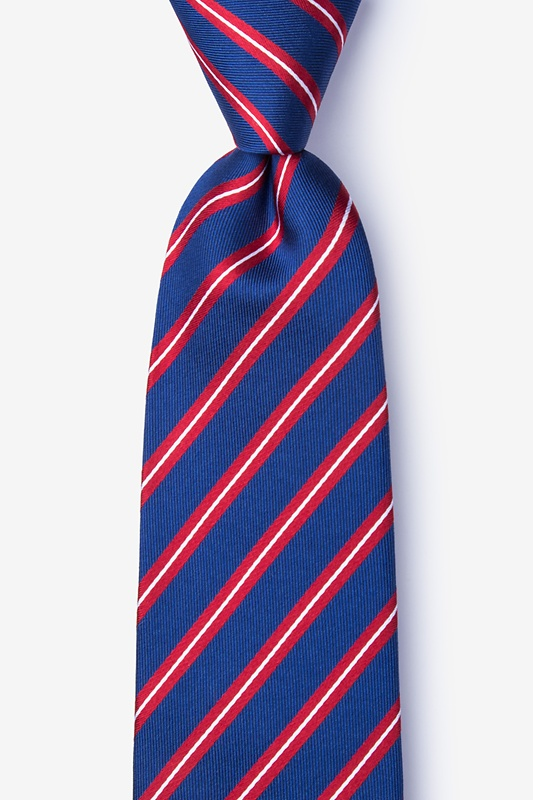 Barrow Red Extra Long Tie Photo (0)