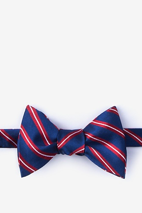 _Barrow Red Self-Tie Bow Tie_
