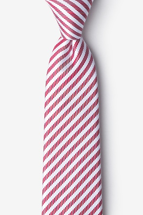 Bear Island Red Tie