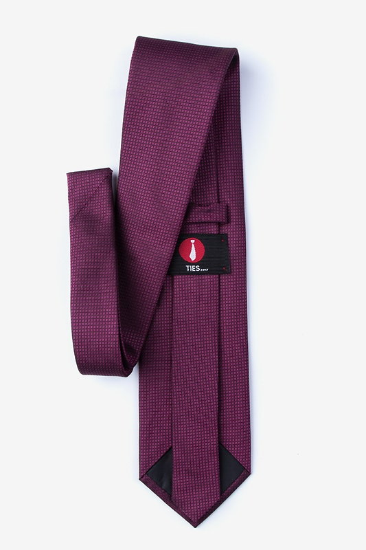 Buck Red Extra Long Tie Photo (1)