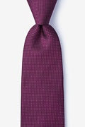Buck Red Extra Long Tie
