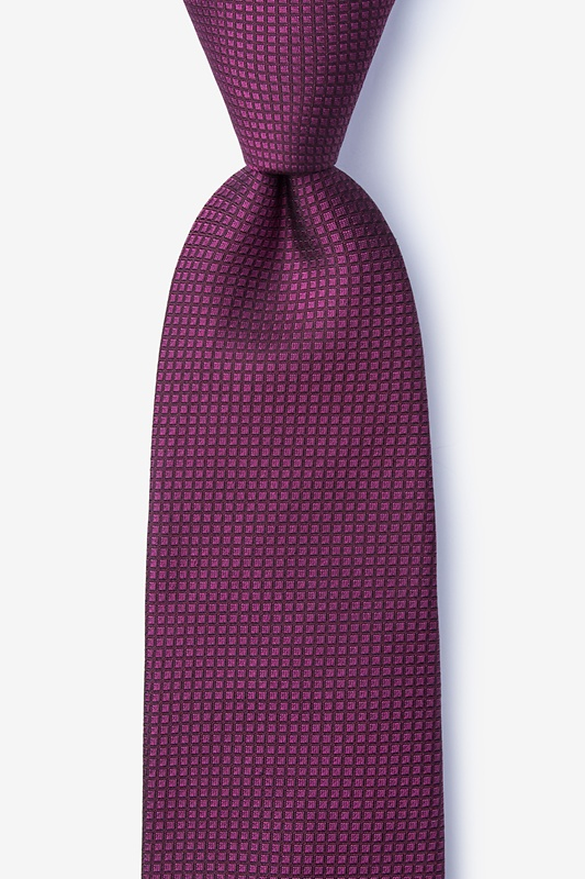 Buck Red Extra Long Tie Photo (0)