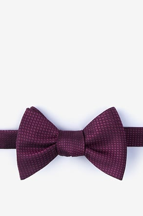 Buck Red Self-Tie Bow Tie