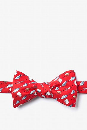 Choose Your Weapon Butterfly Bow Tie