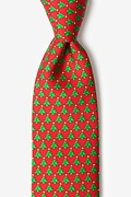 Christmas Forest Tie