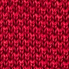 Red Silk Classic Solid Knit Tie