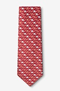 Climate Change Red Tie