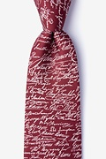 Red Silk Declaration Signers