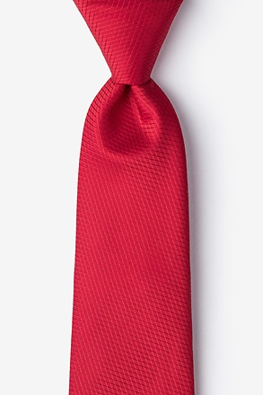 Dominica Red Tie