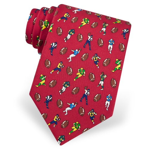 Football Fanatic Tie by Alynn Novelty