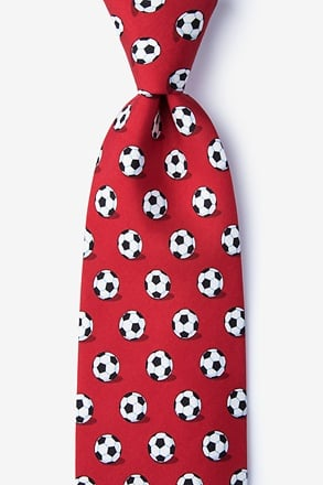 Goal Oriented Red Tie