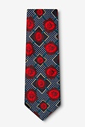 Gonorrhea Red Extra Long Tie Photo (1)