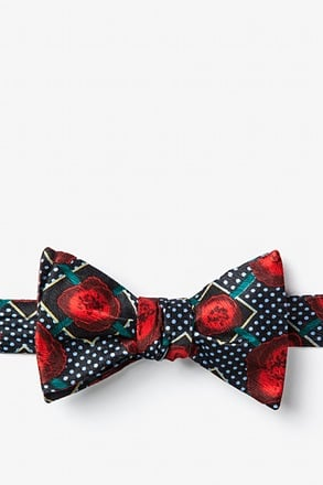 _Gonorrhea Red Self-Tie Bow Tie_