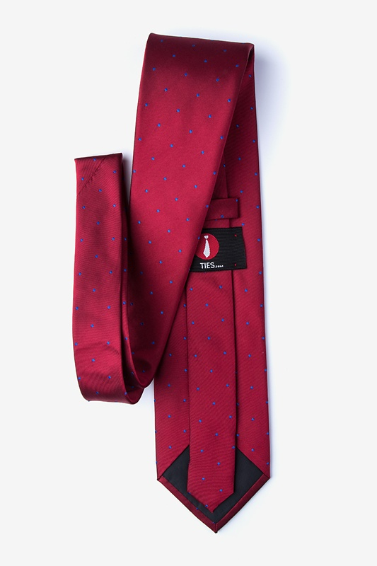 Griffin Red Extra Long Tie Photo (1)