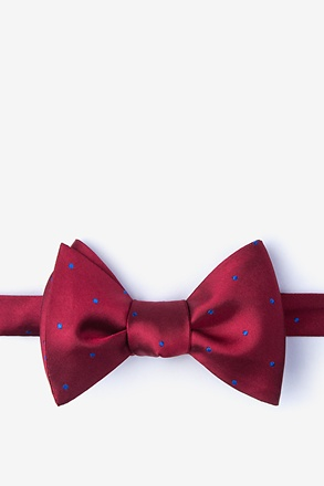 _Griffin Red Self-Tie Bow Tie_
