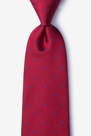 Griffin Red Tie