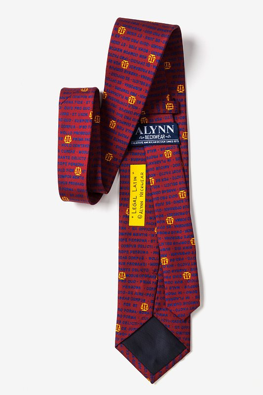 Legal Latin Tie Photo (1)