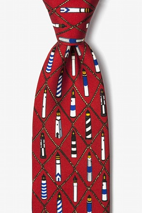 Lighthouses Tie
