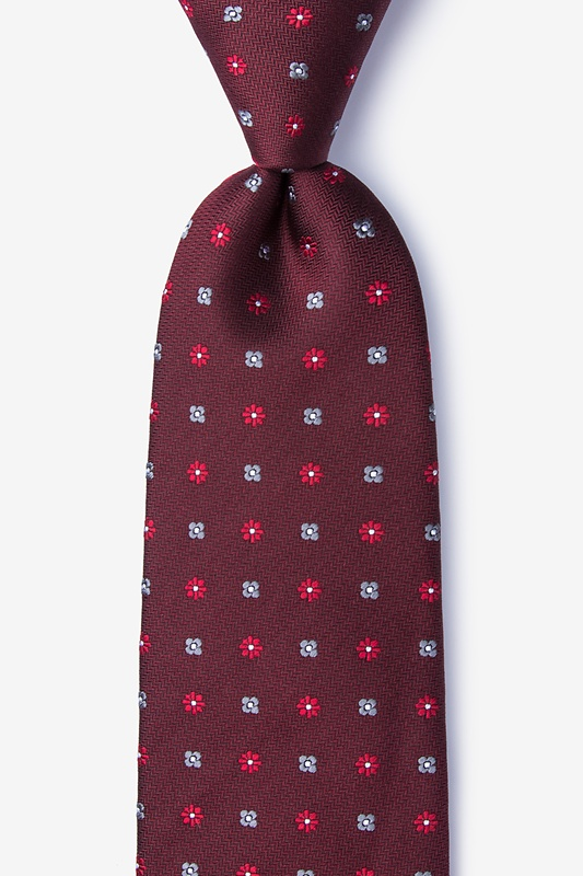 Monkey Red Extra Long Tie Photo (0)