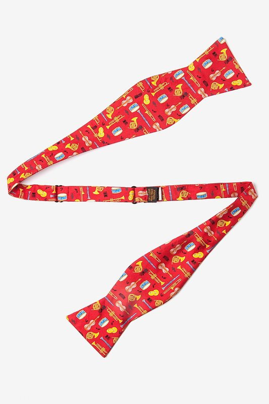 Musical Instruments Self-Tie Bow Tie Photo (1)