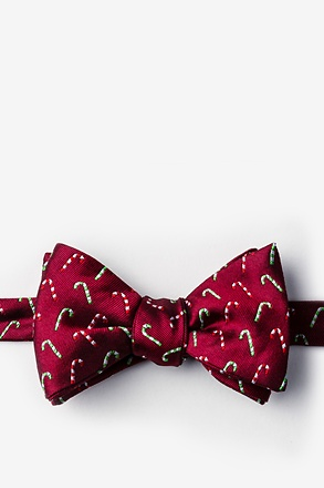 _Perpetual Peppermint Red Self-Tie Bow Tie_