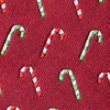 Peppermint Print Red Tie